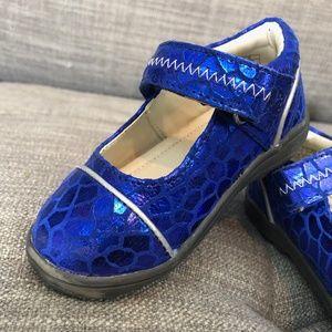 UMI Royal Blue Mary Janes